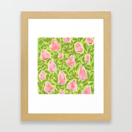Summer Rose Apple : Jambu Air Framed Art Print