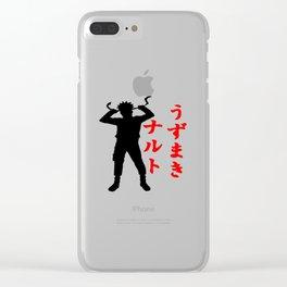 hero naruto uzumaki Clear iPhone Case