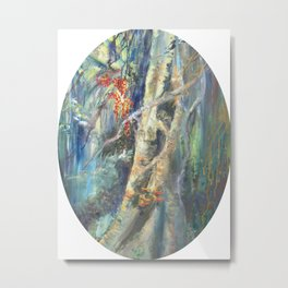 Eyes in the Forest Metal Print