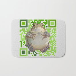 EcoQR Toad Bath Mat