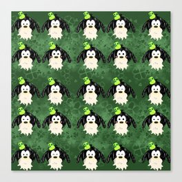 Leprechaun  Tsum  tsum  pattern Canvas Print