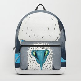 Blue Footed Booby Art Print Backpack