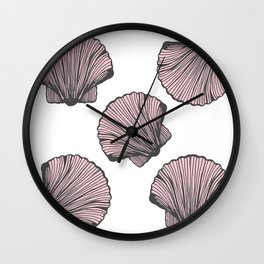 Sea-life Collection - Shells Wall Clock