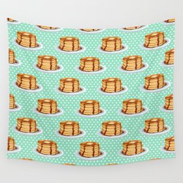 Pancakes & Dots Pattern Wall Tapestry