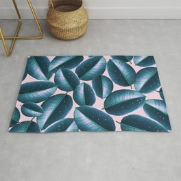 Rubber Plant Cure #society6 #decor #buyart Rug