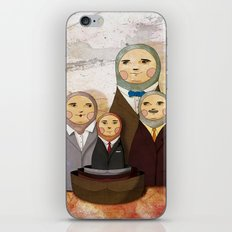 Family business iPhone Skin