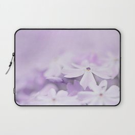 Purple Phlox Laptop Sleeve