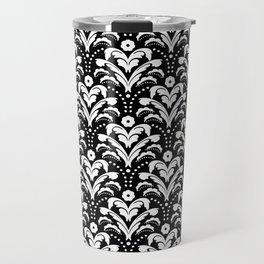 Art Deco Damask Classic Travel Mug