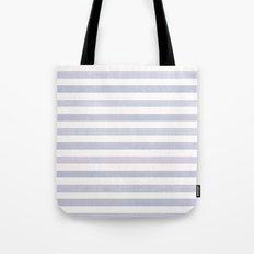 Blue n White Stripe Tote Bag