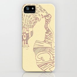 Distopian Dream Girl-Built To Spill iPhone Case