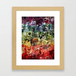 I Dream In Color Framed Art Print