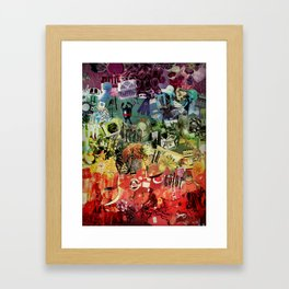 I Dream In Color Framed Art Print