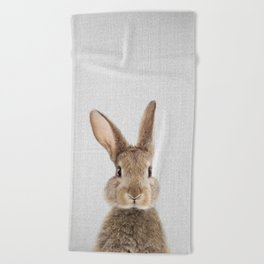 Rabbit - Colorful Beach Towel
