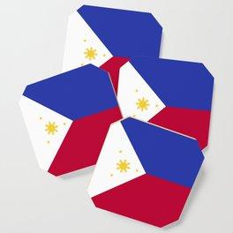 Philippines flag emblem Coaster