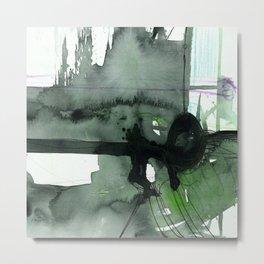 Brush Journey No.7b by Kathy Morton Stanion Metal Print