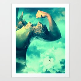 Raw Ambition Art Print