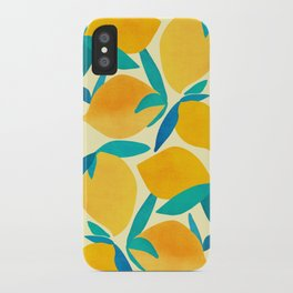 Mangoes - Tropical Fruit Illustration iPhone Case