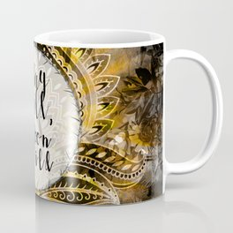 Gold Gypsy Moon Stay Wild Moon Child Coffee Mug