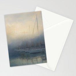 Misty Mooring Stationery Cards