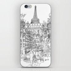 Paris! B&W iPhone Skin