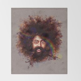 Reggie Watts Throw Blanket