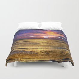 Dissolving Solidity Duvet Cover