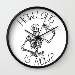 How Long is Now? Wall Clock