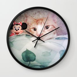 SLEEPING WITH THE ENEMY Wall Clock