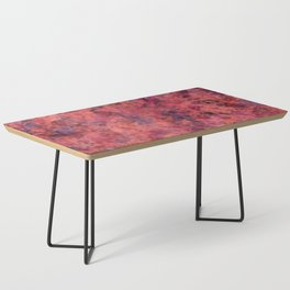 Coral Clouds Coffee Table