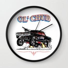 62 Nova Gasser - rev 2 Wall Clock