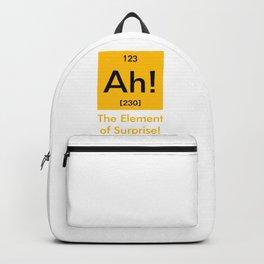 Ah element of surprise Backpack