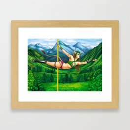 Pole Stars - TAURUS Framed Art Print