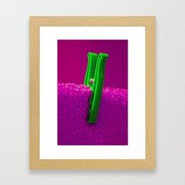 Psychedillypinkpeg Framed Art Print
