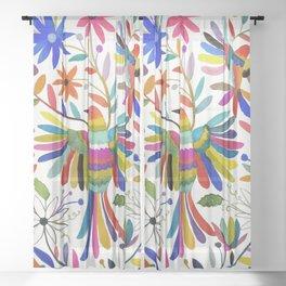 otomi bird Sheer Curtain