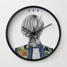 Strands II Wall Clock