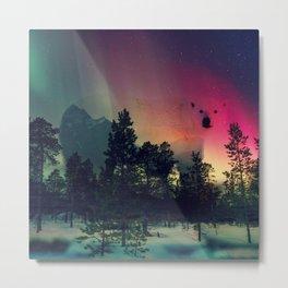Polar Bar Nebula Metal Print