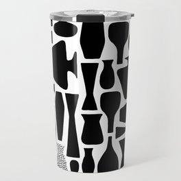 Black Vases Travel Mug