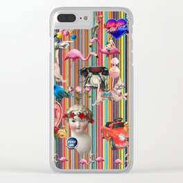 Weekend Away Clear iPhone Case