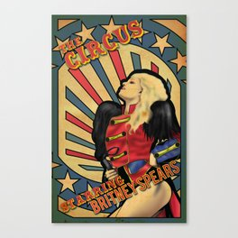 "Britney Spears ""Circus"" Canvas Print"