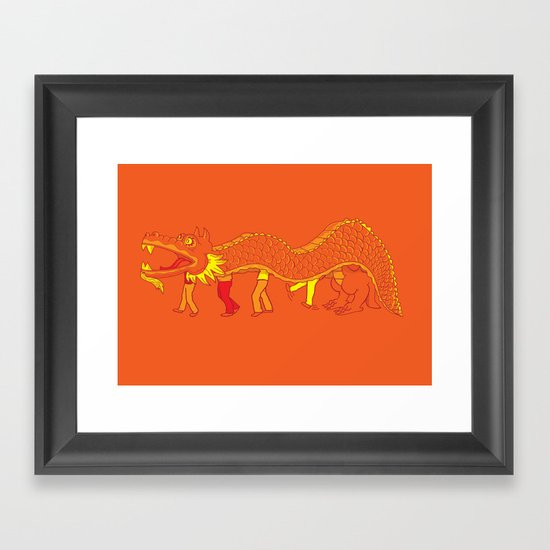 Clever Disguise Framed Art Print