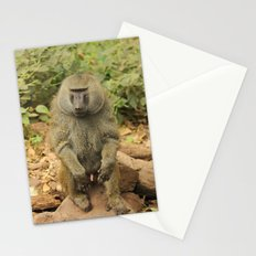 Erection Baboon Stationery Cards