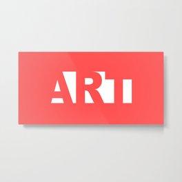 Minimalist  ART Metal Print