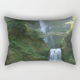 Multnomah Falls Rectangular Pillow