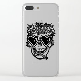 Sweet Tooth ~ Black Clear iPhone Case