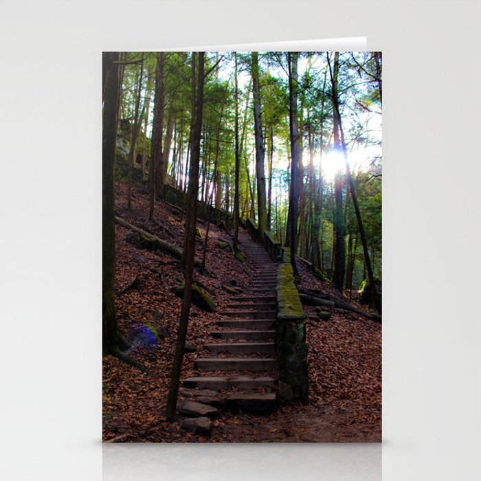 The Staircase to... Stationery Cards