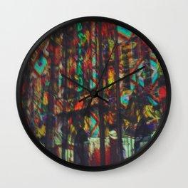 San Fernando Cathedral lightshow Wall Clock