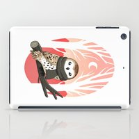 winter iPad Cases featuring Winter Owl by Freeminds