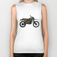 stay gold Biker Tanks featuring Stay Gold by Ride The Storm