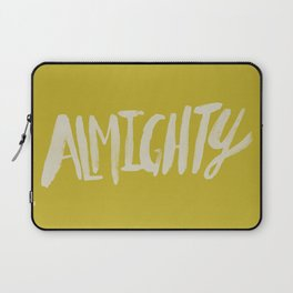 Almighty x Mustard Laptop Sleeve
