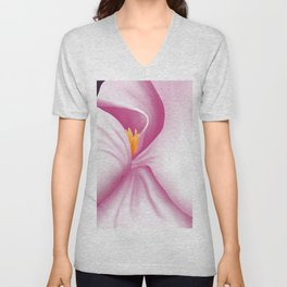 An Intimate View of Magnolia Unisex V-Neck